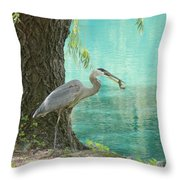 Perfect Catch Throw Pillow