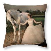 Perfect Dancers Throw Pillow