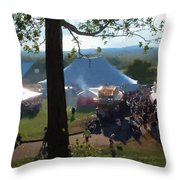 Perfect Fair Weather Throw Pillow