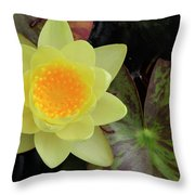 Perfect Flower Throw Pillow