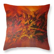 Perfect Love Casts Out Fear Throw Pillow