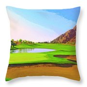 Perfect Morning Throw Pillow