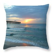 Perfect Peace At 6 A.m. Throw Pillow