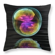 Perfect Sphere Throw Pillow