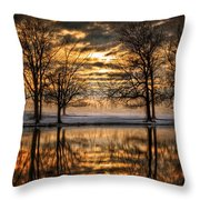 Perfect Sunset Throw Pillow