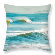 Perfect Surf Throw Pillow