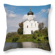 Perfect Temple Throw Pillow