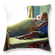 Perfect Waiting - Esperar Perfecto Throw Pillow