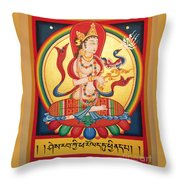 Perfection Of Insight Throw Pillow