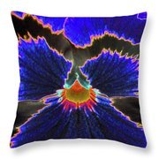 Perfectly Pansy 02 - Photopower Throw Pillow