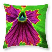 Perfectly Pansy 04 - Photopower Throw Pillow