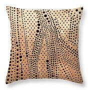 Perforated Metal Sheet Throw Pillow