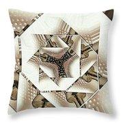 Perforated  Throw Pillow
