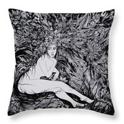 Performance Of Autumn Throw Pillow