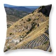 Pergamon Amphitheater Throw Pillow