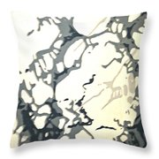 Period Wallpaper Throw Pillow