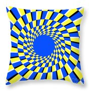 Peripheral Drift Illusion  Throw Pillow