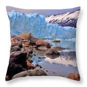 Perito Moreno 001 Throw Pillow