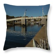 Perkins Cove 1 Throw Pillow