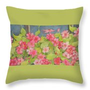 Perky Throw Pillow