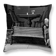 Perl Throw Pillow