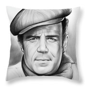 Pernell Roberts Throw Pillow