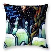 Perpetual Peace Throw Pillow
