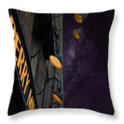 Perry Mill Night Throw Pillow