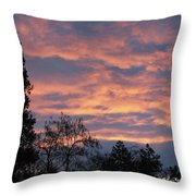Perrydale Sunrise Throw Pillow