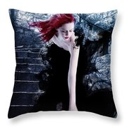 Persefone Throw Pillow