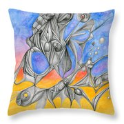 Perserverence Throw Pillow