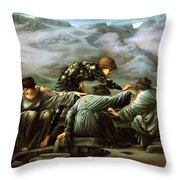 Perseus And The Graiae Throw Pillow