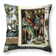 Persian Assassins Throw Pillow