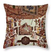 Persian Miniature, 1567 Throw Pillow
