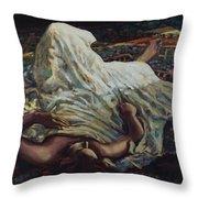 Persian Rugs Throw Pillow