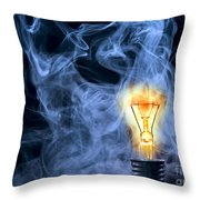 Persistence Of Vision Throw Pillow