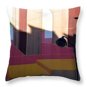 Perspective And Shadow Throw Pillow
