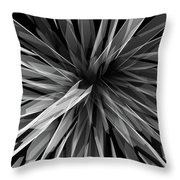 Perspective Facets Throw Pillow