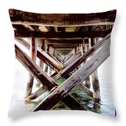 Perspective I Throw Pillow