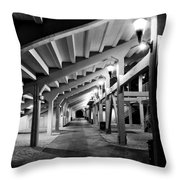 Perspective V Throw Pillow
