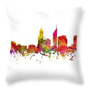 Perth Australia Cityscape 08 Throw Pillow