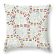 Pertinacious Throw Pillow