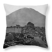 Peru: Earthquake Throw Pillow