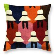Peru Hat Tapestry Throw Pillow