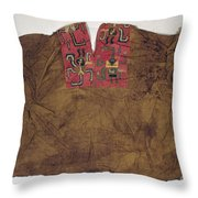 Peru: Paracas Poncho Throw Pillow