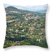 Perugia Countryside Throw Pillow