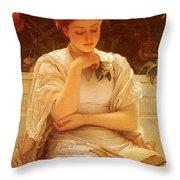 Perugini Charles In The Orangery Throw Pillow
