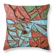 Perusal Tile Throw Pillow