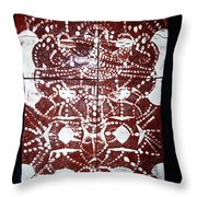 Peruser Throw Pillow