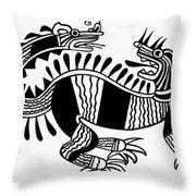 Peruvian Chimera Throw Pillow